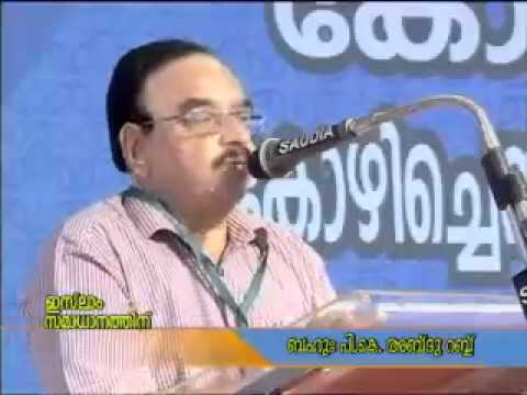 ഇസ്ലാം സമാധാനത്തിന്: K N M സംസ്ഥാന കാമ്പയിൻ സമാപന സമ്മേളനം | P K അബ്ദുറബ്ബ്