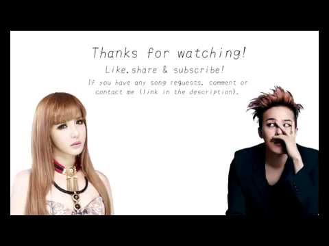 G-Dragon ft. Park Bom 「 Black 」