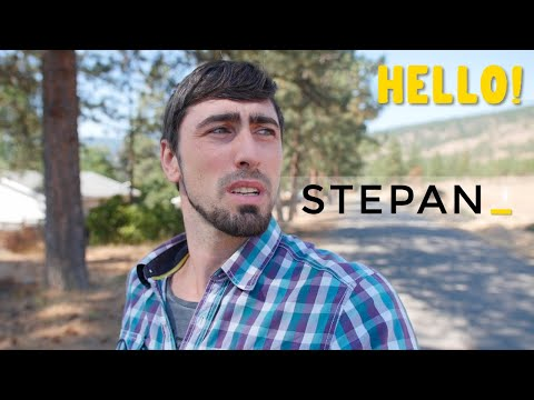 Hello! I'm Stepan! Welcome to Canada!