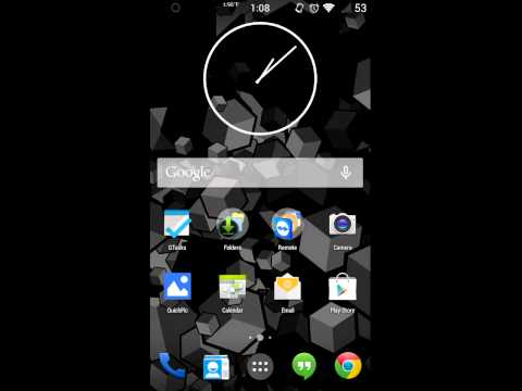 Android 4.4 Kit Kat With Nova Launcher