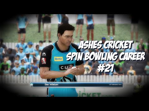 BIG BASH DEBUT! - Ashes Cricket - Spin Bowling Career ep.21