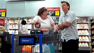 THE POOTER - Farting at Walmart - FART SCARES LADY AND SHE SCREAMS! 😂