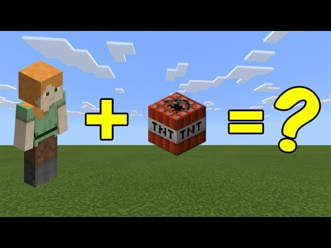 I Combined Alex And A TNT In Minecraft - Here's WHAT Happened...