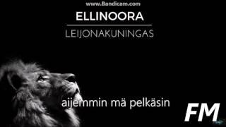 Ellinoora - Leijonakuningas (lyrics)