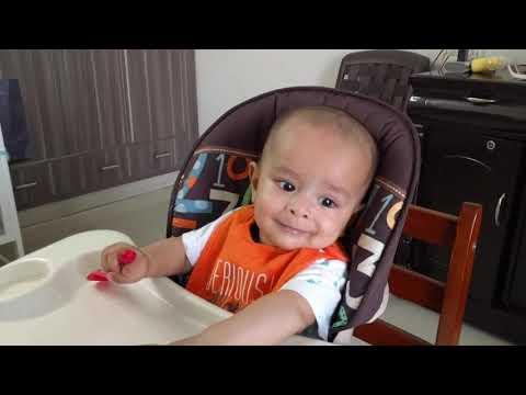 KABIR EATING SWEET POTATO (SHAKARKANDI) | AT 7 MONTHS thumbnail