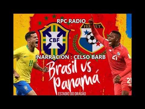Brasil 1 Panama 1. Primer Tiempo RPC RADIO