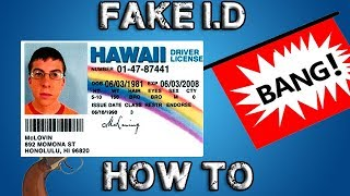 How To Buy A Fake ID