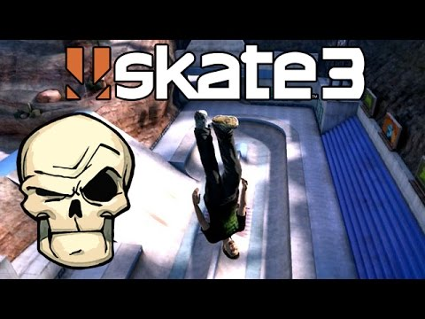 Skate 3: Breaking More Bones [PS3 Gameplay, Commentary]