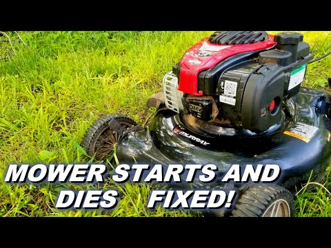 Fix A Mower That Starts And Dies