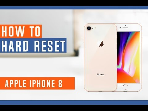 How to Restore iPhone 8 to Factory Settings - Hard Reset