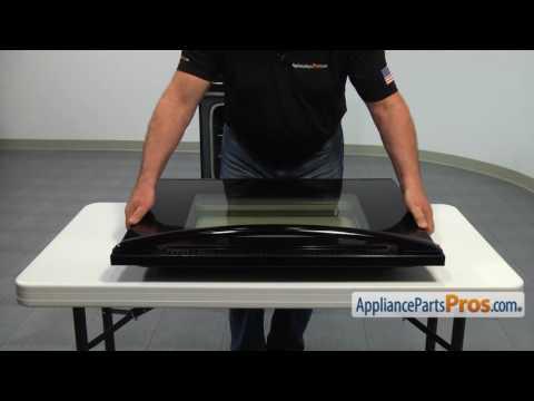 Range Door Glass (part #WPW10118455) - How To Replace