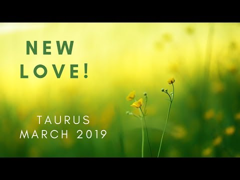 TAURUS: New love! March 2019