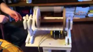 Homemade Electric Spinning Wheel