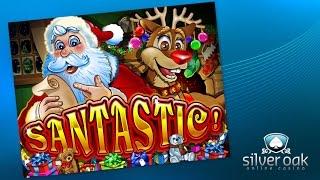 Watch Santastic Video from Silver Oak Casino
