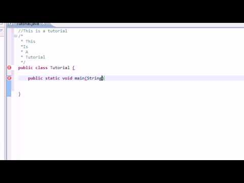Learning Java: Part 1: Basic Introduction