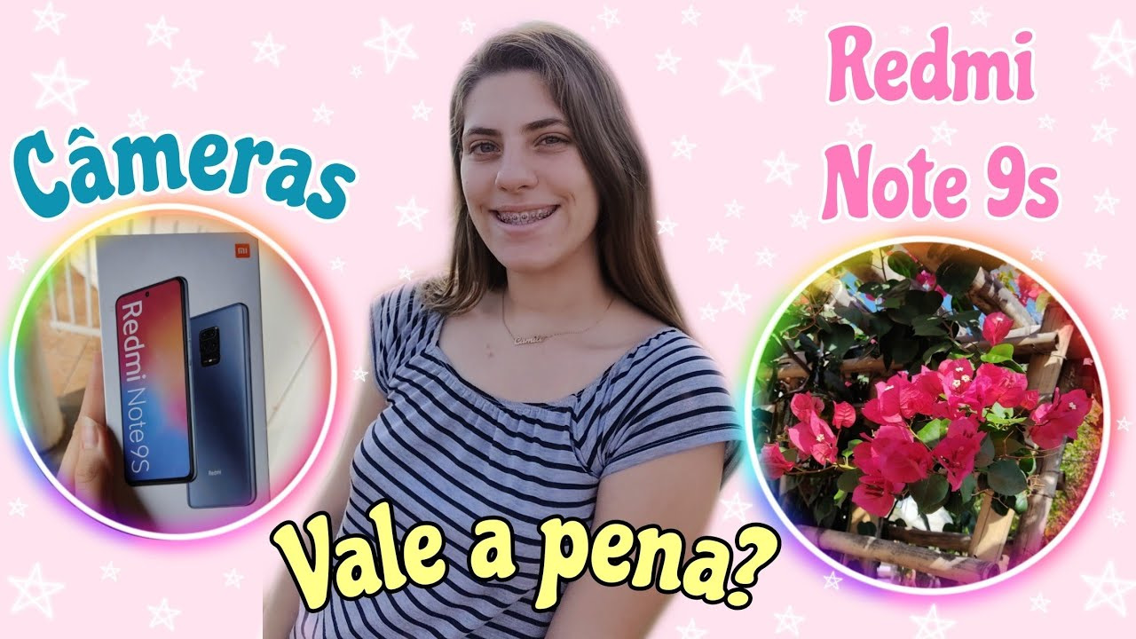 CÂMERA DO REDMI NOTE 9S COM FOTOS E VÍDEOS| Vale a pena?/Camily Balbo