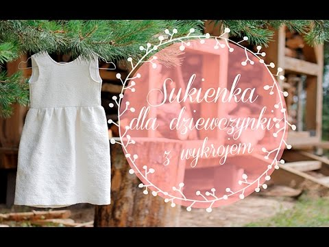 6429d6a0 Kurs szycia dla początkujących, odcinek 13 – jak u szyć sukienkę dla  dziewczynki
