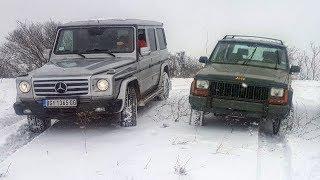 Jeep Cherokee XJ vs Mercedes G
