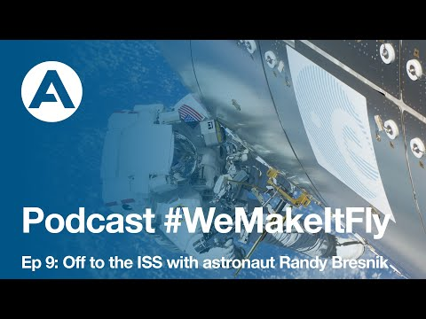 Off to the ISS with astronaut Randy Bresnik