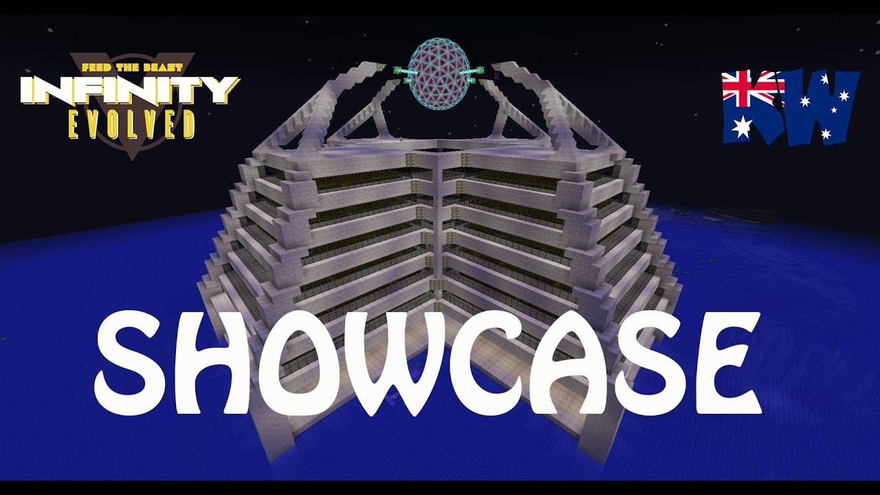 Minecraft FTB Infinity Evolved Culinary Generator Power Plant Showcase