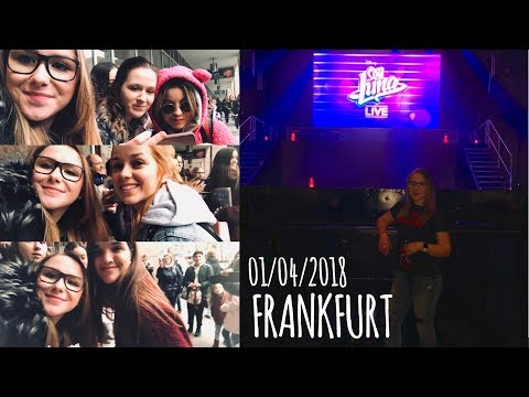 SOY LUNA LIVE FRANKFURT| 01/04/2018| & MEETING THE CAST