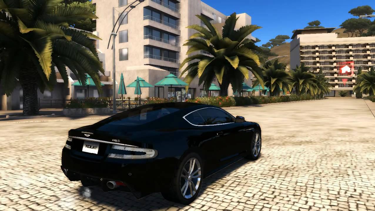 Test Drive Unlimited 2 Aston Martin Dbs Sound Engine Youtube