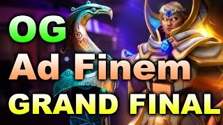OG vs AD FINEM - GRAND FINAL - BOSTON MAJOR DOTA 2