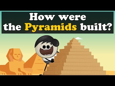 How were the Pyramids built? | #aumsum #kids #science #education #children
