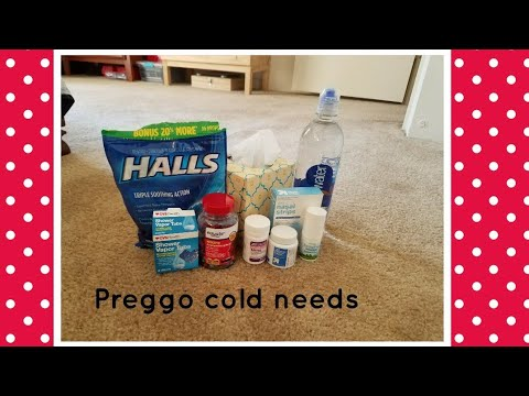 COLD ESSENTIALS WHILE PREGNANT | MOMMA LAQUIDARA