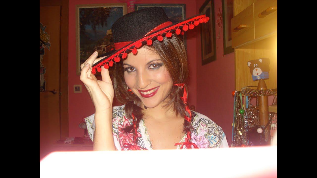 disfraz tipico de mexicana youtube