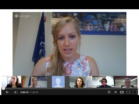 """IOM Hangout: """"Youth Migration: Moving Development Forward"""""""