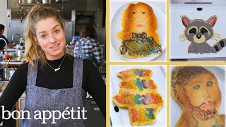 Download Pro Chef Tries Pancake Art for the First Time | Bon Appétit Mp3 and Videos