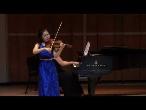 SooBeen Lee(16yrs ), violinist   Tchaikovsky  'Mélodie'