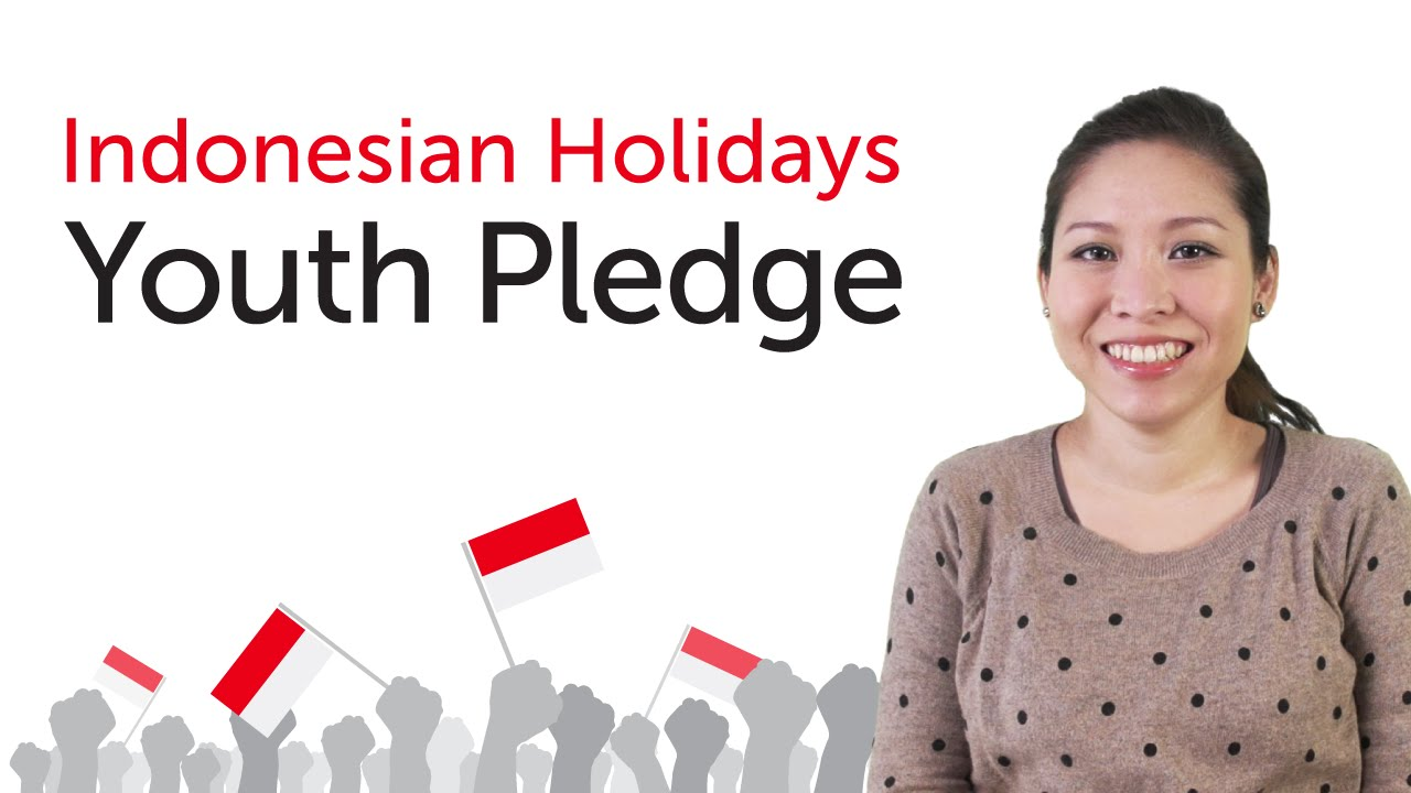 Indonesian Holidays - Youth Pledge - Sumpah Pemuda