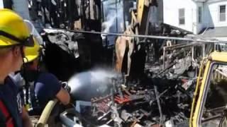 West Kleinhans Street Fire Aftermath