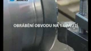 NEOSTAR - Kruhový permanentní magnetický upínač pro soustružení thumbnail