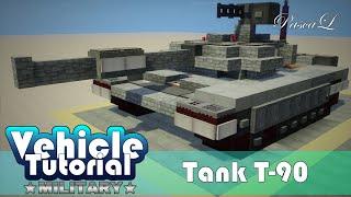 Как построить танк Т-90 в Minecraft | VTM #1