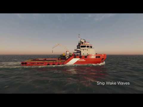 UNIGINE 2 - Water Visualization for Professional Maritime Simulation