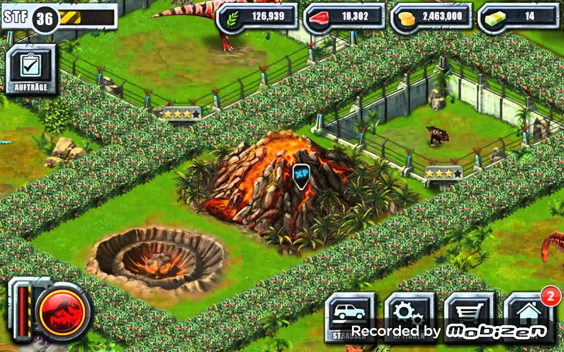 Jurassic park builder buying the active vulcano youtube - Jurassic park builder decorations ...