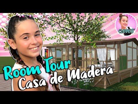 ROOM TOUR de mi CASA de MADERA!! Os enseño los SECRETOS de mi CABAÑA de VACACIONES en ROBIN HOOD