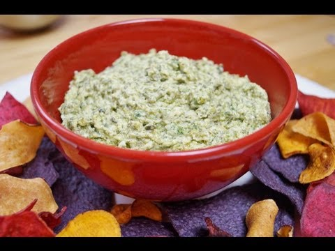 Spinach Dip Recipe-How To Make Spinach Dip-Diane Kometa-Dishin' With Di Recipe Video #28