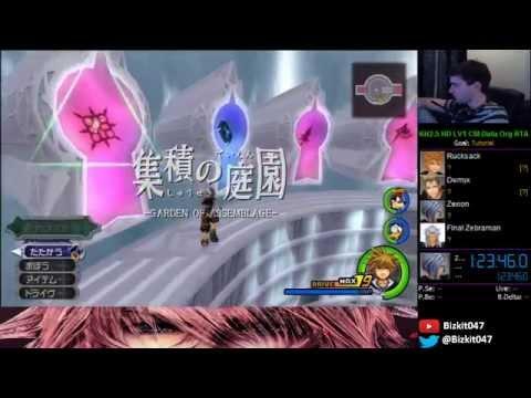 Kingdom Hearts HD 2.5 - Data Org Guide