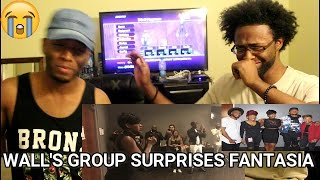 The Walls  Group and Fantasia (Satisfied) (REACTION)