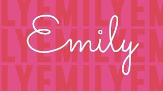 New Rules - Emily (Lyric Video)