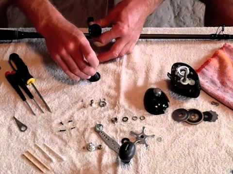 How to upgrade Shimano Curado 300E Fishing Reel Bearings