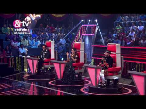 Coach Shaan & Mika Singh Plays Situation Game Moment Grand Finale The Voice India S2 12th March,9PM