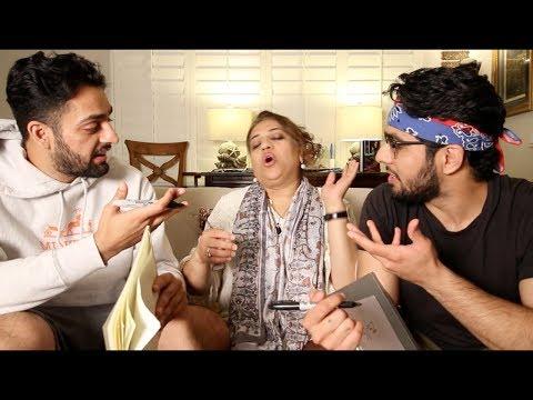 MAMA JEE CHOOSES HER FAVORITE SON (SHOCKED) Ahmed & Wajeeh