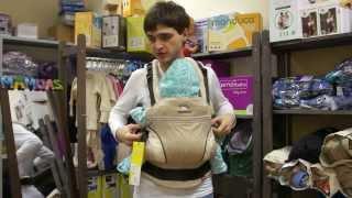 Обзор эргономичного рюкзака Manduca