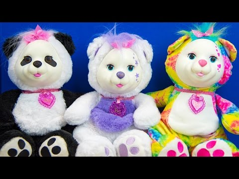 Bear Surprise Toys for Girls Animal Baby Toys Unboxing & Special Announcement Kinder Playtime