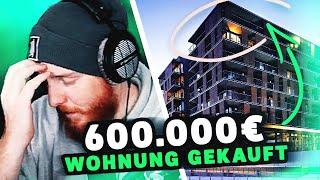 UNGE hat 600.000€ Wohnung GEKAUFT 💰💸 ungespielt Reaktion